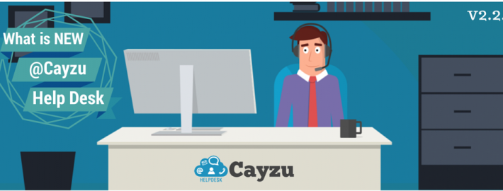 Cayzu Help Desk - What's new