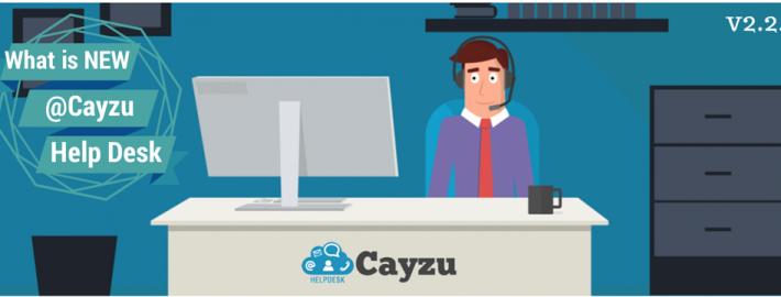 Cayzu Help Desk - What's new