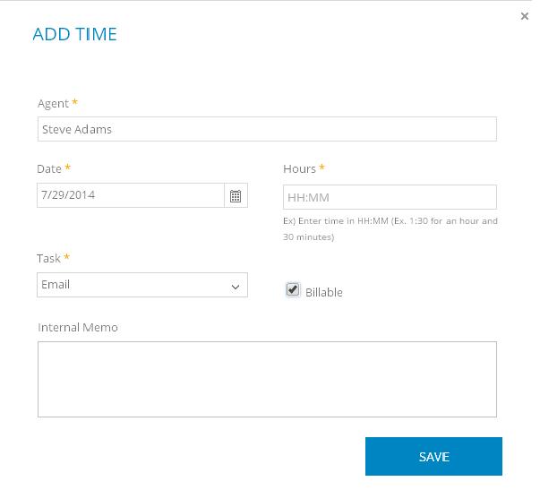 Add time cayzu help desk