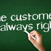 Is the customer ever wrong?