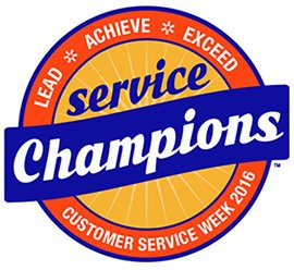 Customer Service Week Logo