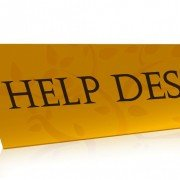 Cayzu Help Desk -Help desk sign