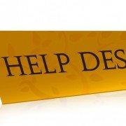 Cayzu Help Desk -Help desk sign