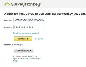 Surveymonkey help desk integration