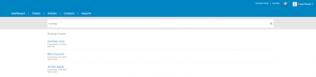 Improved search with Cayzu