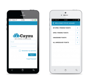 Cayzu Help Desk iPhone app